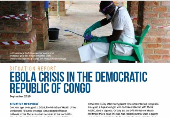 Ebola crisis in the Democratic Republic of Congo No. 4