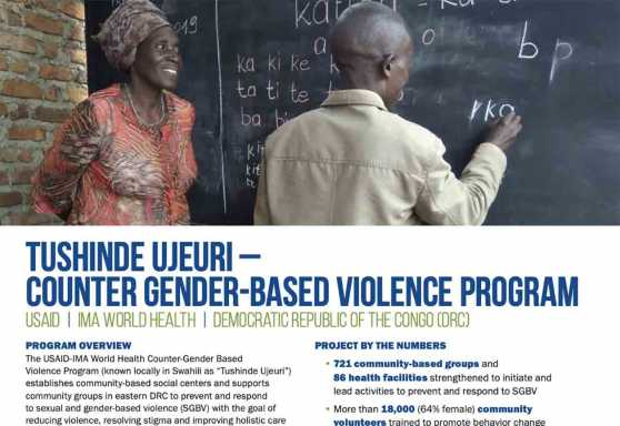 Tushinde Ujeuri – Counter Gender-Based Violence Program