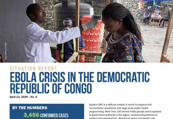 Ebola Crisis in the Democratic Republic of Congo Situation Report No. 6
