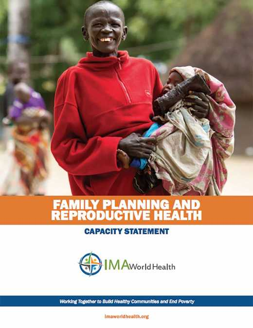 Capacity Statement: Family Planning and Reproductive Health
