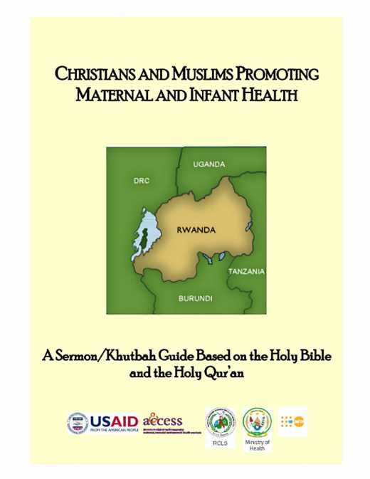 Christians and Muslims Promoting Maternal and Infant Health - English/Khutbah