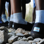 Back to school: IMA and TOMS provide shoes to Haitian students