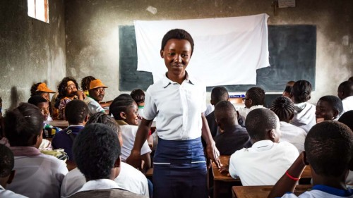 In Goma, a city in the eastern Democratic Republic of Congo, IMA World Health teaches high school students about their rights as women and prevention of sexual and gender-based violence. (Photo by Crystal Stafford)