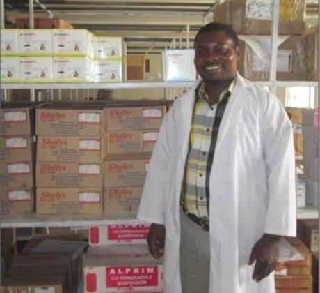 Bakari, District Pharmacist in Tarime, Tanzania