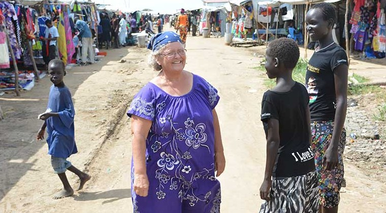 Nancy in South Sudan