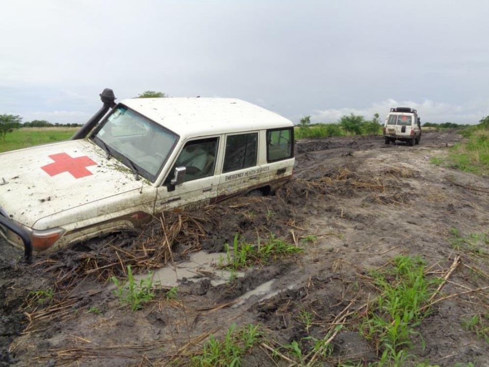 SS Allwecan Truck stuck in mud