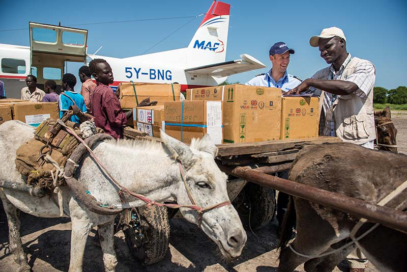 Medical Needs IMA travels with displaced South Sudan people