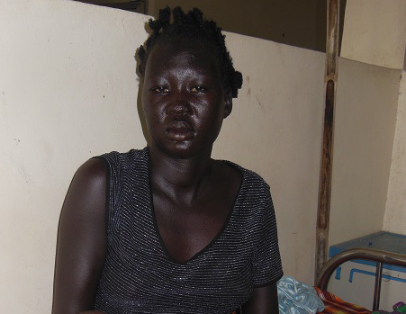 Apel Bior from South Sudan health for mothers