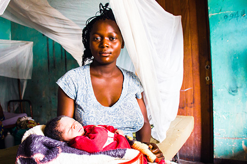 Democratic Republic of Congo Mother and child health for Mother's Day