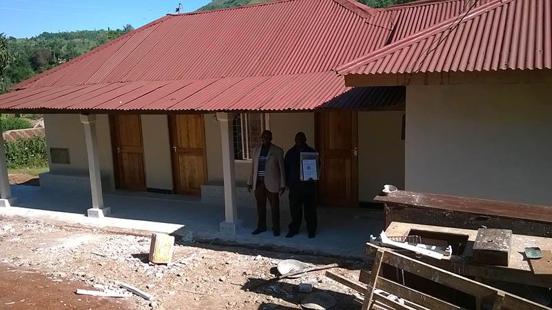renovated Health center September 2015