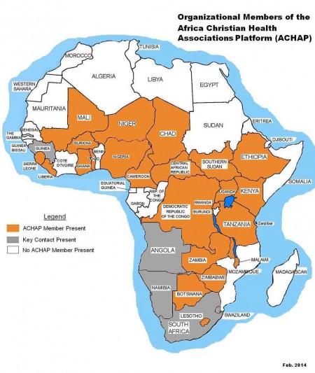 ACHAP map December  2014