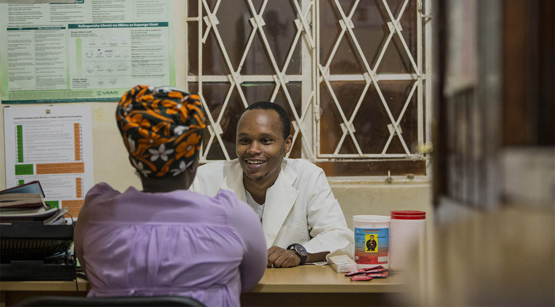 Kenya health professionals