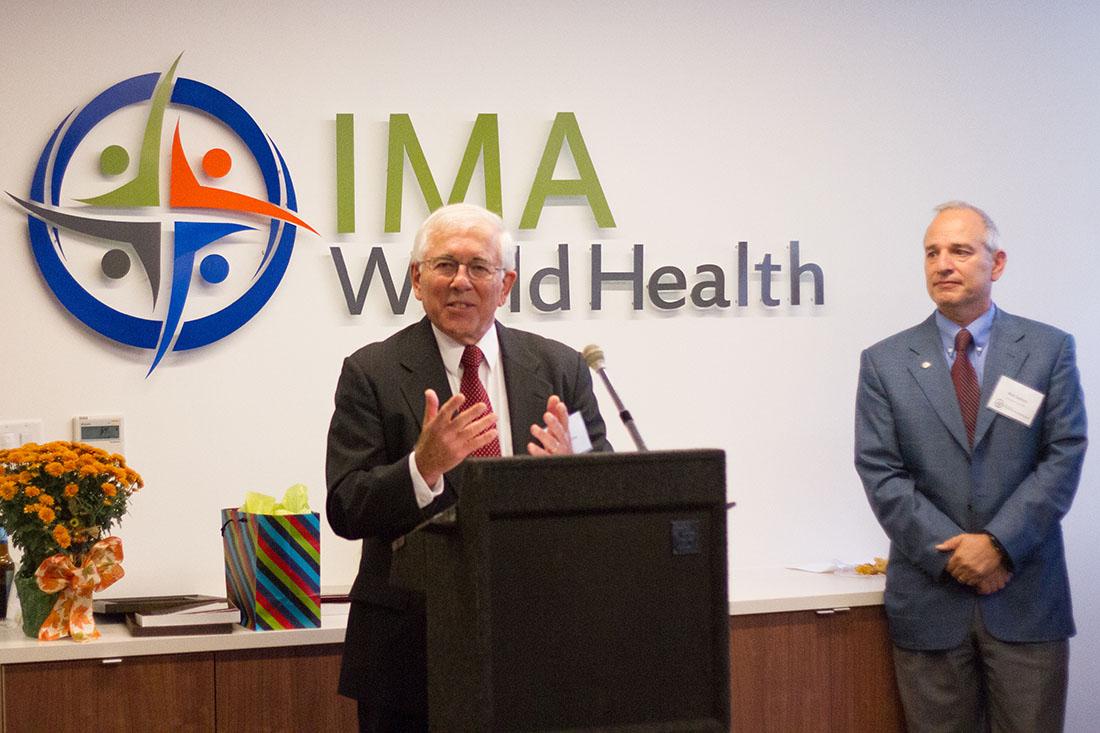 Former IMA President Paul Derstine shares his memories