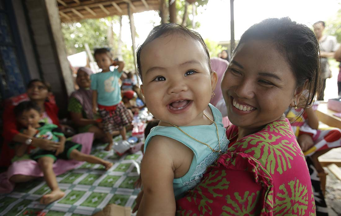 when mothers and babies have access to the support they need—such as training on food and nutrition—futures shine with promise.