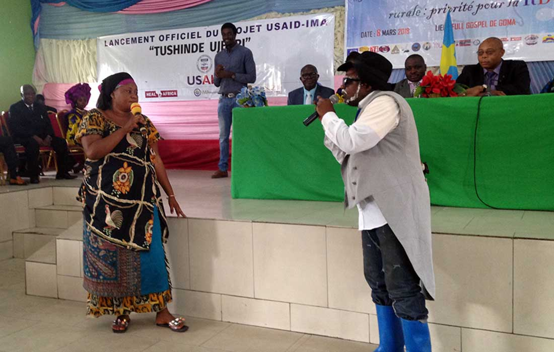 The launch in Goma took place on March 8, coinciding with International Women's Day.