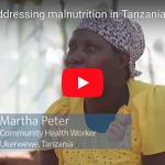 Video: IMA addresses malnutrition in Tanzania