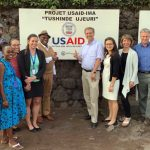 State Department visits IMA's program to counter gender-based violence in the Democratic Republic of Congo